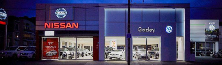 gazley volkswagen SKODA and Nissan Showroom