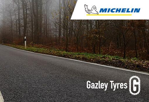 Michelin & Gazley Tyres logos