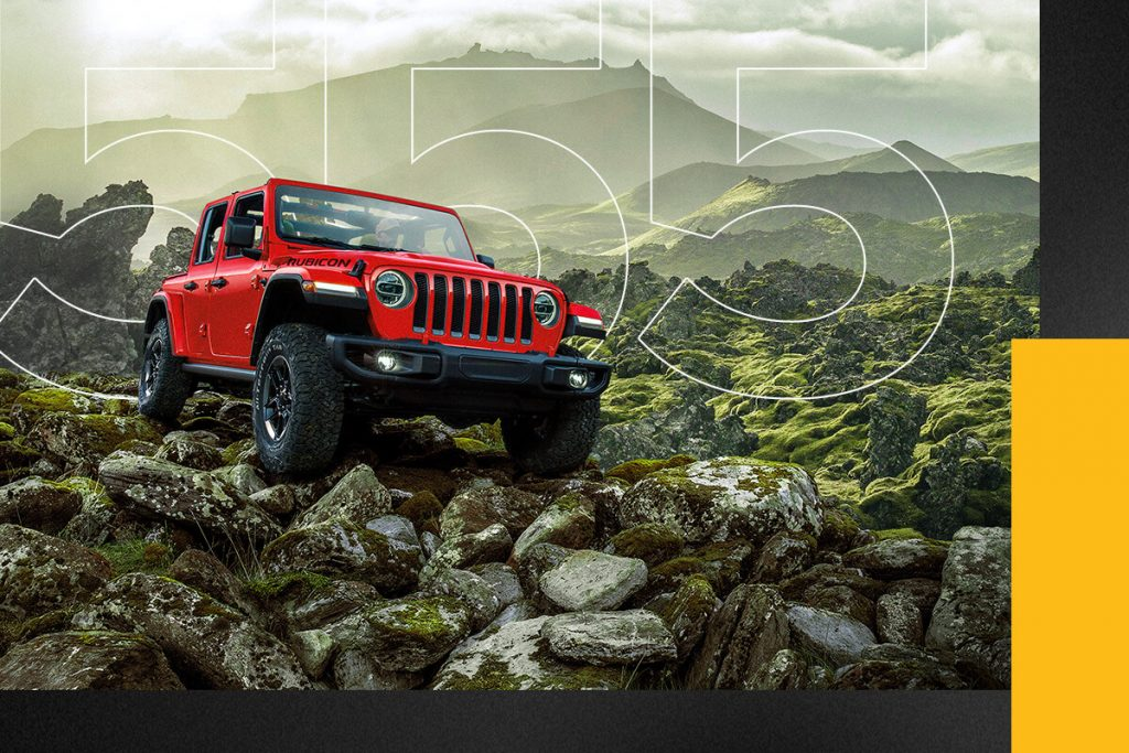 Jeep Wrangler 555 creative