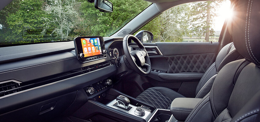 interior of the next generation outlander right hand drive